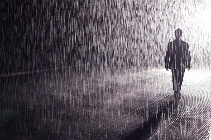 RAIN ROOM - Yuz Museum Shanghai